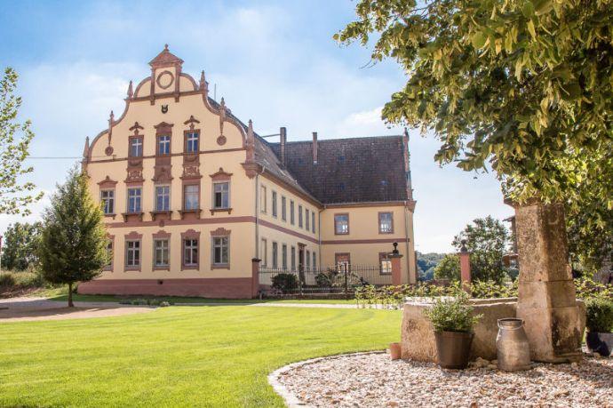 Wohnung im Herrenhaus des Rittergutes Kössern mit Muldenblick