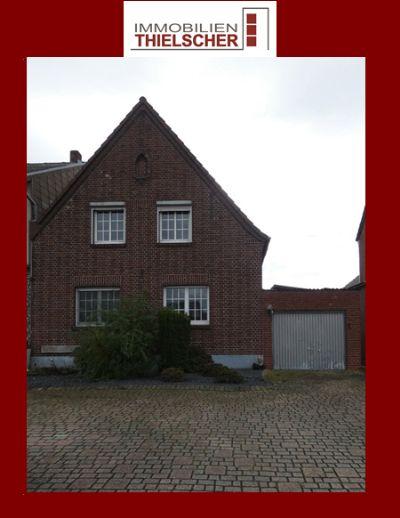 Einfamilienhaus mit Garten und Garage in Gangelt-Kreuzrath
