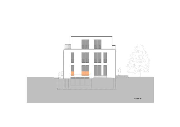 Erstbezug Neubau Penthouse 5-Zimmer-Wohnung (WE5) in Iserbrook