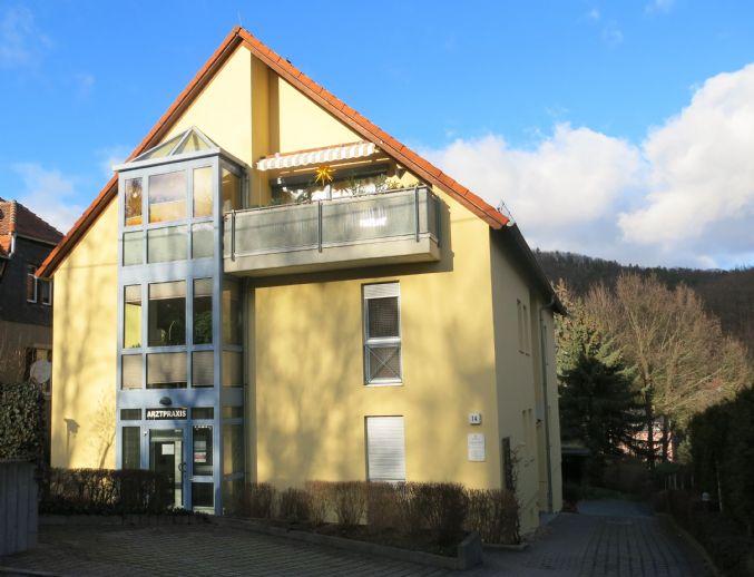 4-Raumwohnung mit Sauna und Kamin am Raschelberg mit Windbergblick ab 01.05.2020 zu vermieten