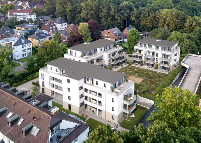 Exklusive Erdgeschosswohnung mit Terrasse - Baustart bereits erfolgt!