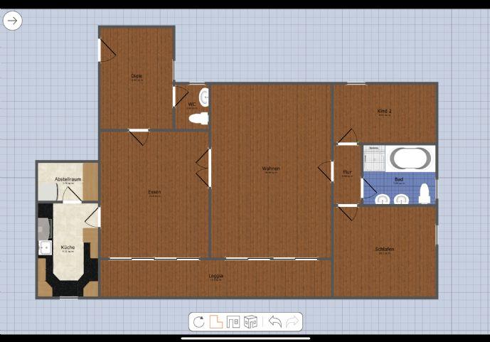 4-Zimmer-Wohnung in ruhiger Bestlage mit angrenzendem Garten ab 01.05.2020