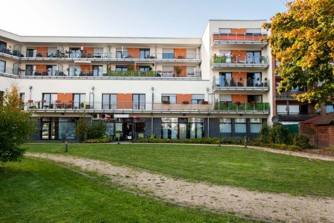 Betreutes Wohnen mit Pflegedienst - charmante, barrierefreie 3-Zimmerwohnung mit Balkon
