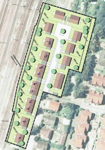 Bauplatz für DHH