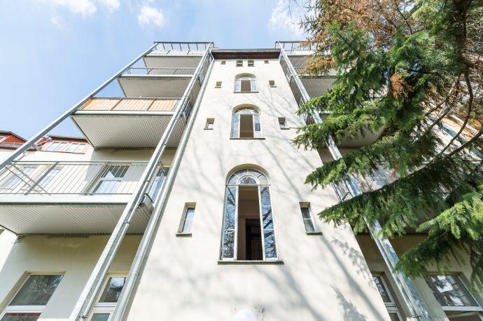 Frisch renovierte 2- Raum Wohnung mit Südbalkon in der Innenstadt