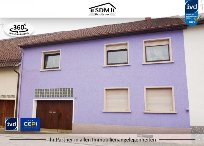 GROßZÜGIG Zweifamilienhaus mit Scheune in