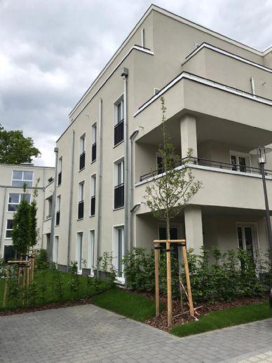 Wohnen am Schlossgarten 1Raumwohnung nahe Stadtzentrum mit 2 Balkonen in Neuruppin