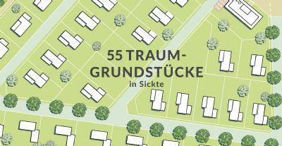 """Bauträgergrundstück im Neubaugebiet """"Salzdahlumer Straße"""" in Sickte"""