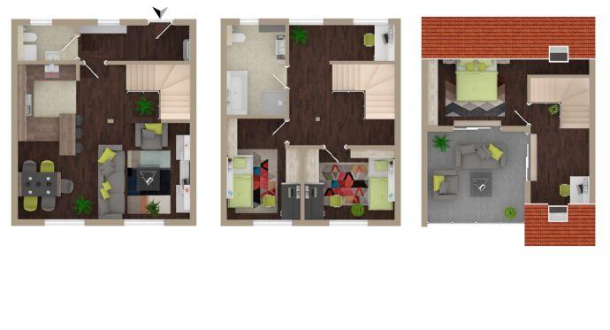 Erstbezug // Maisonettewohnung mit Dachterrasse // StadtQuartier «Altes Papierwerk»