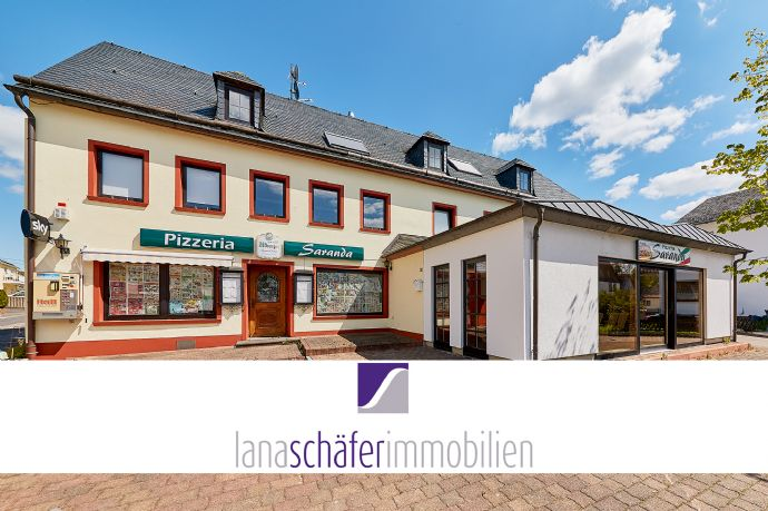 Morbach-Gonzerath: Appartementhaus mit Restaurant und großer Wohnung