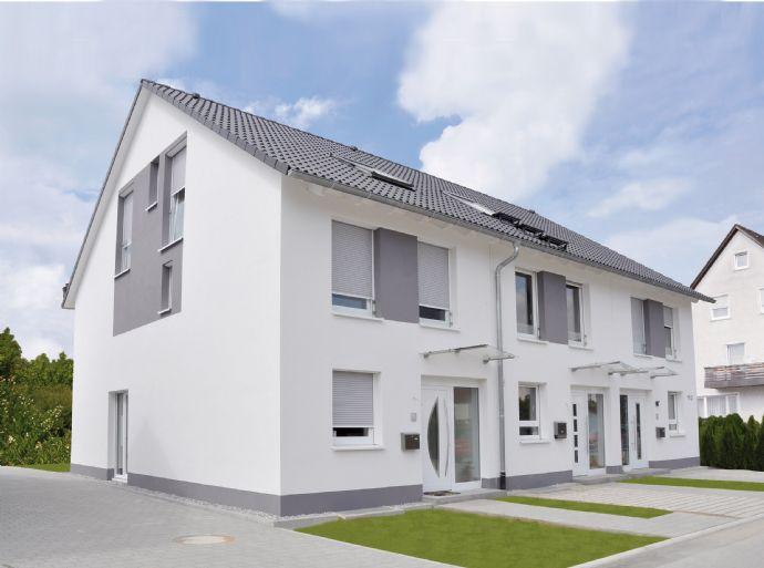 Neubau von Doppelhaushälften / Reihenhäusern (ca. 136 oder ca. 145 m² Wfl.) in schöner Lage von SASBACH!