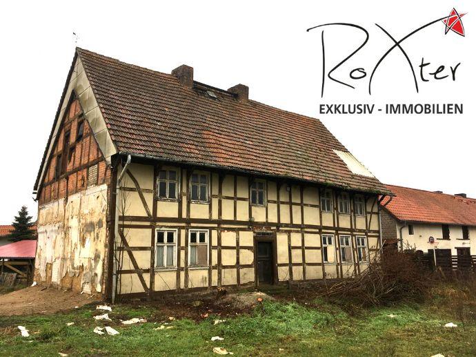 Ehemaliges Bürgermeisterhaus mit Nebengebäude in Roxförde bei Gardelegen