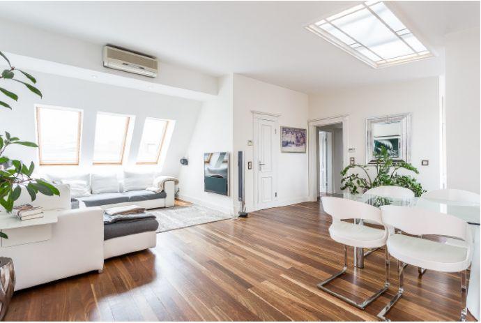Wohnen im Lietzenseekiez!! Exklusives lichtdurchflutetes 4 Zimmer Dachgeschoß mit Terrasse, Lift und Kfz Stellplatz