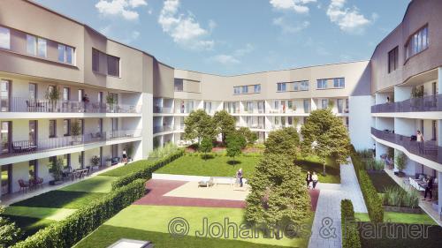 großzügige 2 Zimmer-Wohnung mit Terrasse am Postplatz