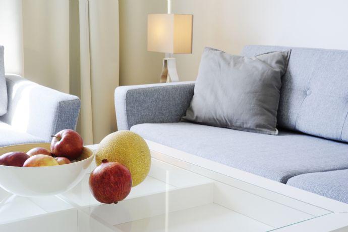 wunderschön möbiliertes nagelneues Appartement vis-avis ECB -  brandnew renovated and furnished flat