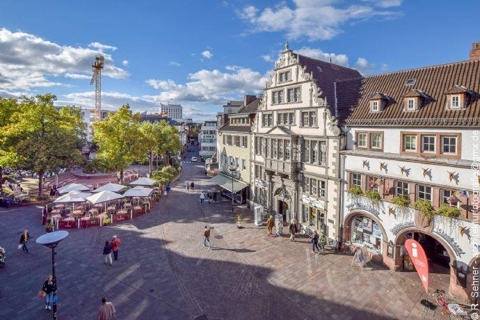 PB Innenstadt am Marienplatz: moderne 3 Zimmer KDB, 86m² mit tollem Blick in die City