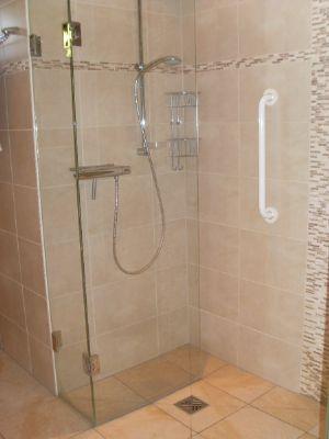 Seniorengerechtes Duschbad