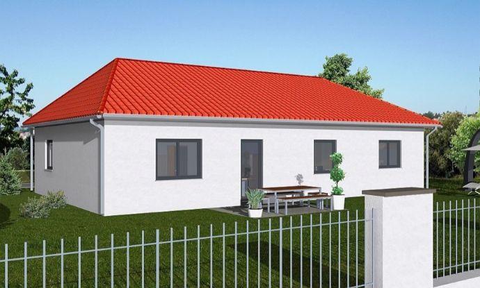 Bungalow 130 massiv inkl. Grundstück sowie sämtlicher Baunebenkosten und Hausanschlußgebühren