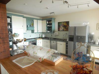 Der offene Küchenbereich