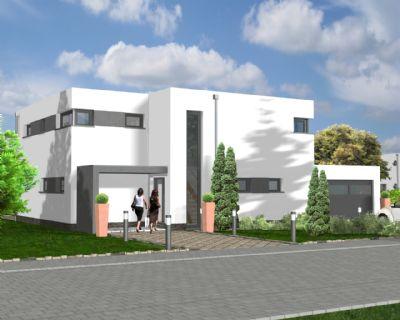 stadtvilla im bauhaus stil kfw 55 energieeffizientes. Black Bedroom Furniture Sets. Home Design Ideas