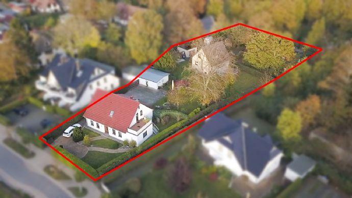 Grundstück in zentraler Lage in Zingst, ca. 2.090,00 m², teilweise mit B-Plan und Immobilienbestand