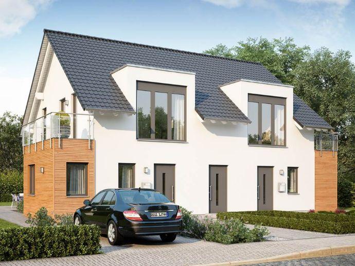 Einzugfertig geplantes Zweifamilienhaus - Eigenleistung möglich!