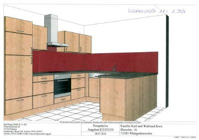 7111 - 1 DG mi re Küche