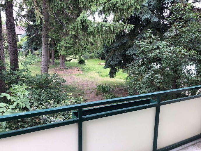 Blick ins Grüne - 2-Zimmerwohnung mit Balkon und Gartennutzung