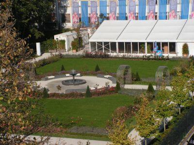 Stadtpark in der unmittelbaren Umgebung