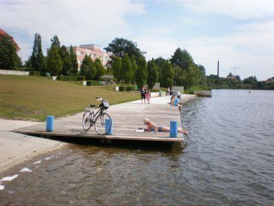 Erholung am nahen See