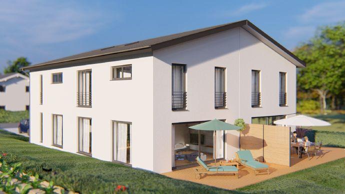 2 großzügige Doppelhaushälften mit Weitblick in Eurasburg
