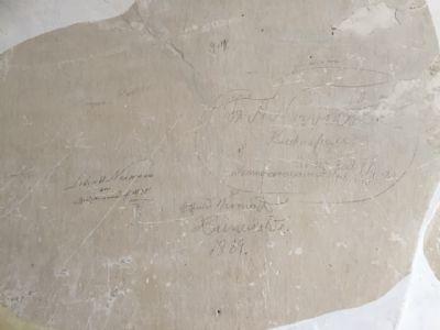 Original Inschriften