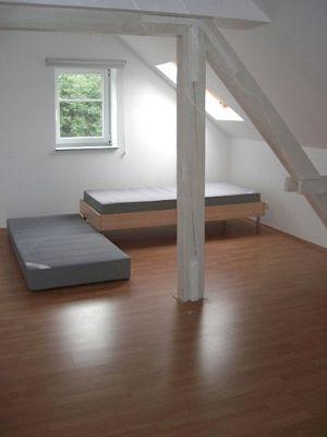 Ein Schlafzimmer ...