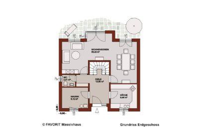 neubau projekt favorit massivhaus select 134 inkl 775 qm grundst ck in rodenkirchen. Black Bedroom Furniture Sets. Home Design Ideas