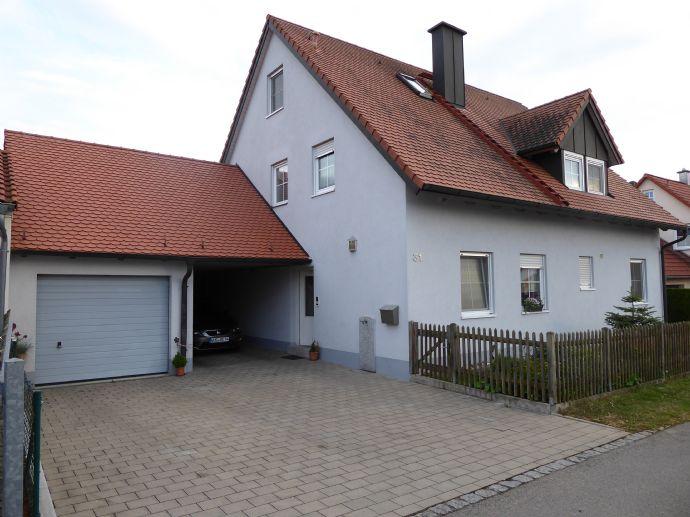 Einfamilienhaus mit garage und carport terrasse drehbar garten 8