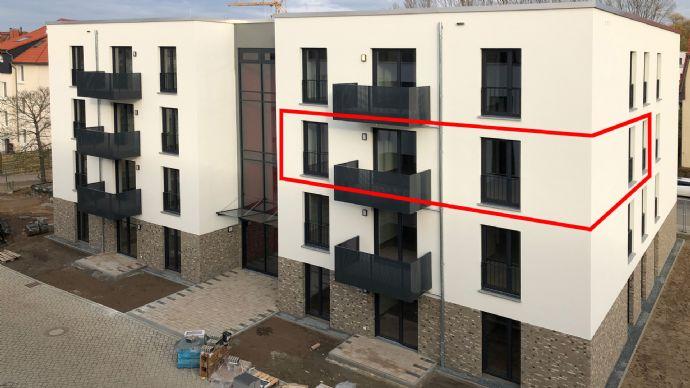 Neubau-Erstbezug: 4-Zimmer-Wohnung mit Balkon im Quartier Berliner Straße