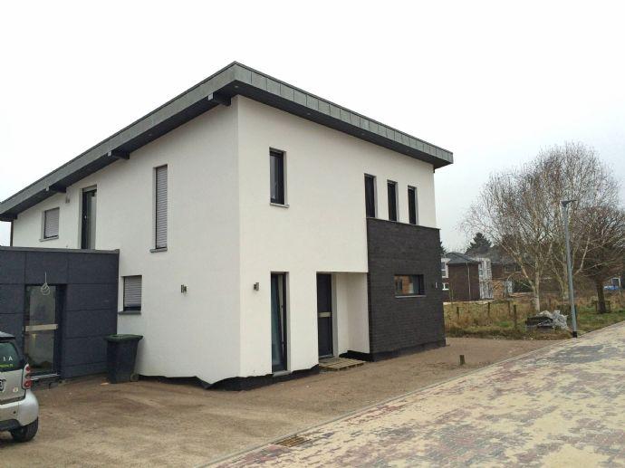 Individuelles Pultdach Einfamilienhaus