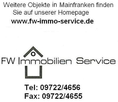 Attraktiver Bauplatz und Bauerwartungsland in Würzburg-Unterdürrbach Weitere Objekte: www.fw-immo-service.de