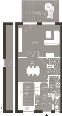 Grundriss Erdgeschoss Alternative