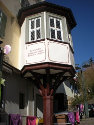 Historischer Schillererker