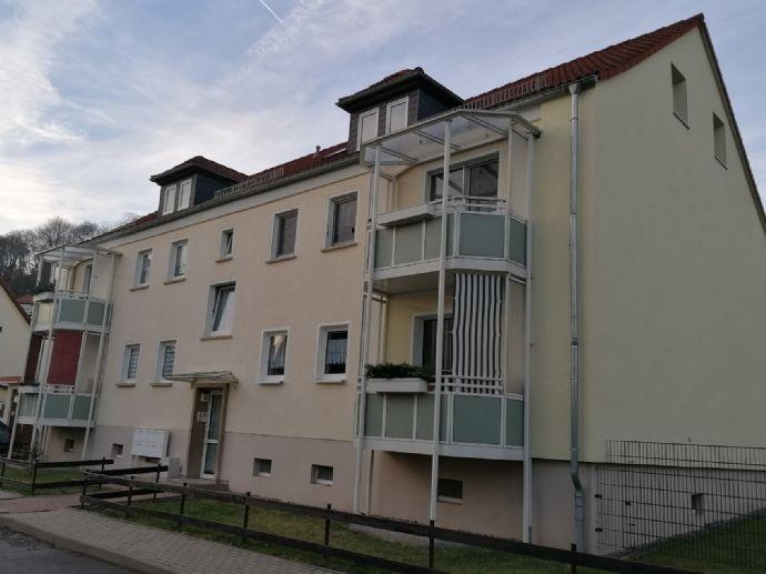 gepflegte Zwei-Raum-Eigentumswohnung mit Balkon, in ruhiger Wohnlage