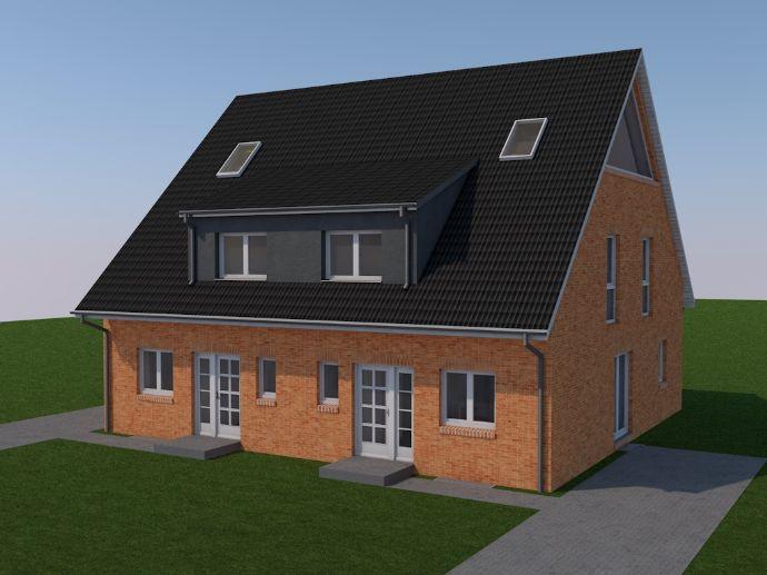 Neubauprojekt - Doppelhaushälfte in Tellmer - KfW 55