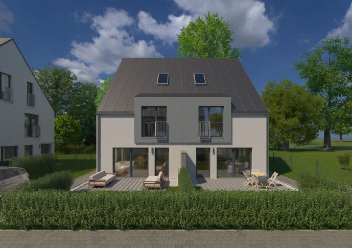 Exklusive Doppelhaushälfte mit Dachterrasse in idyllischer Lage