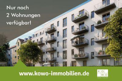 NEUBAU: Ruhige 3-Zimmer-Wohnung mit 2 Dachterrassen in Leipzig-Lindenau