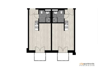 Apartment-Grundriss