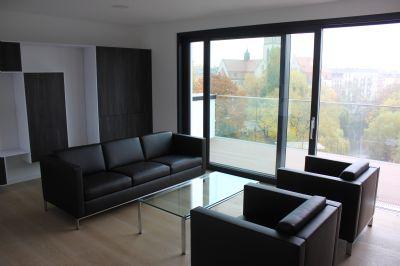 neubau am park moderne 4 zimmer loft wohnung etagenwohnung leipzig 2c88s4h. Black Bedroom Furniture Sets. Home Design Ideas
