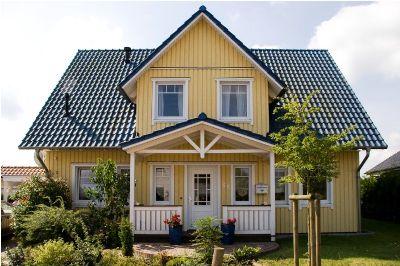 Schwedenhaus gelb