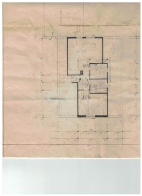 Grundriss Dachgeschoß- kleine Wohnung