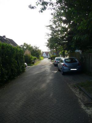 Einsicht in die Wohnstraße