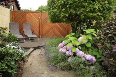 Liegemöglichkeit im Garten